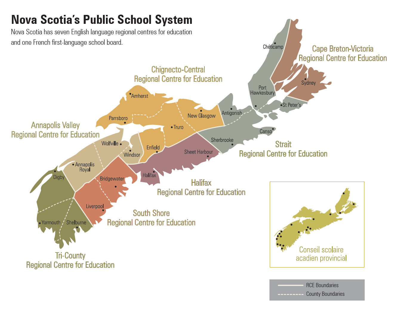 NS School Boards map - click to download